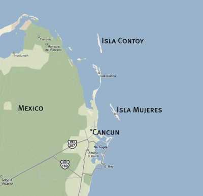 Mexiko Karte Cancun.Mexico Sustainable Tourism At The Caribbean Coast